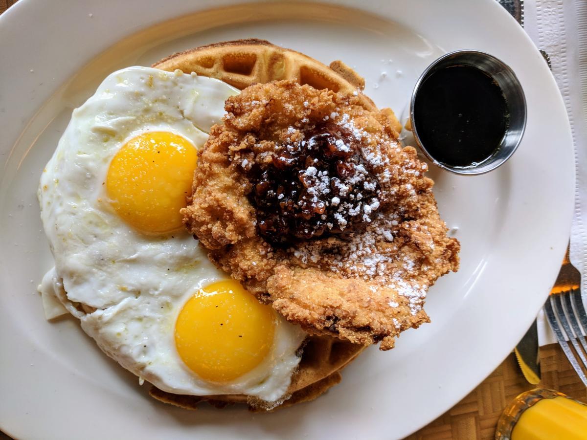 The Kitchen Chicken & Waffles