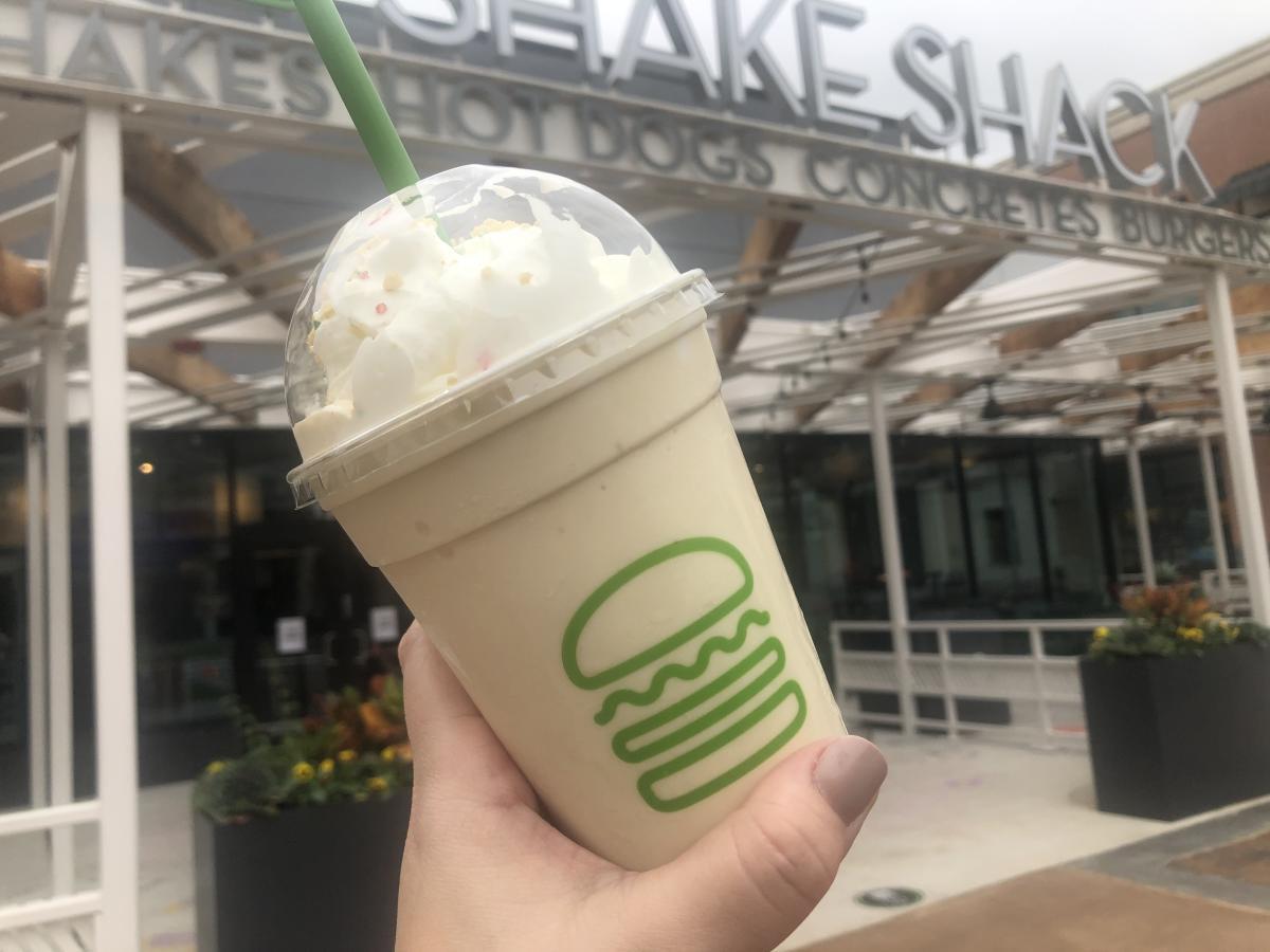 Shake at Shake Shack at The Woodlands Mall