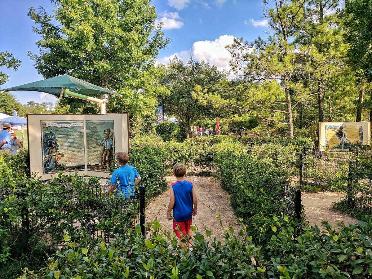 Story Book Maze at Town Green Park