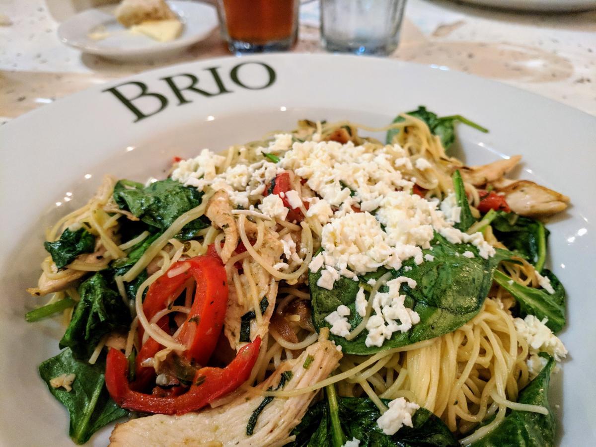 Pasta Dish at Brio