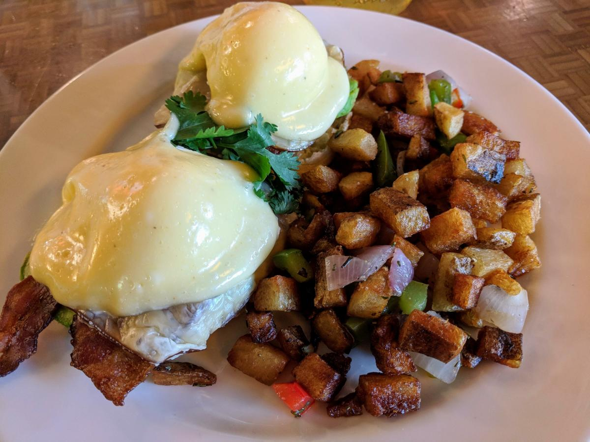 The Kitchen Eggs Benedict