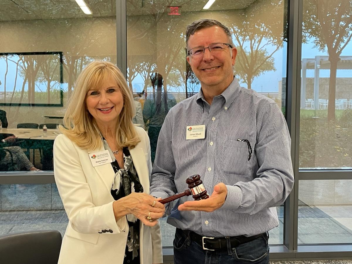 Maria Holmes and James Stilwell - Woodlands Arts Council Board Members