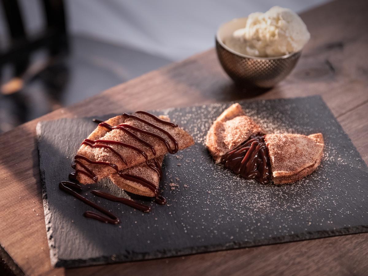 Chocolate Lekker Tarts at Peli Peli
