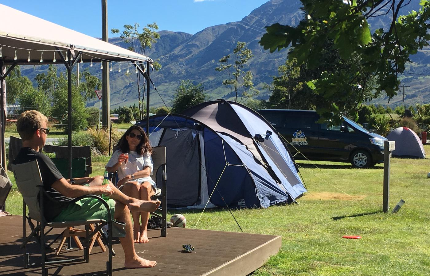 Glamping Mrs Woolly's Campground tent comfort lodging romantic beauty hotel motel B&B