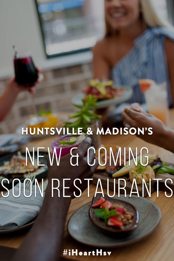New & Coming Soon Restaurants Pin