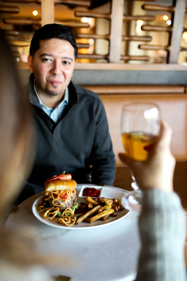 Regent Lounge Burger