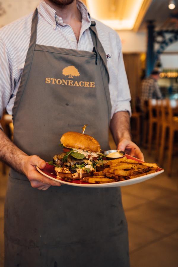 Stoneacre Brasserie The Bender Burger