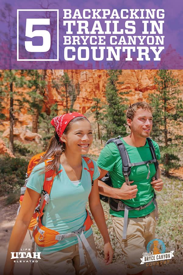 backpacking purple
