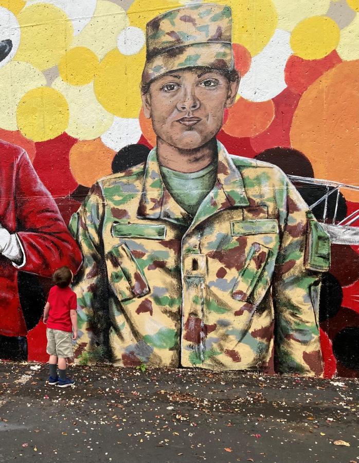 APSU Wall Mural