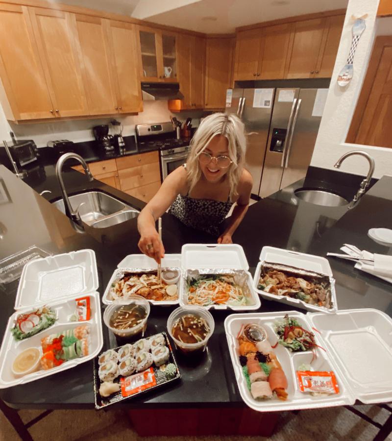 sushi single fin food eat blog