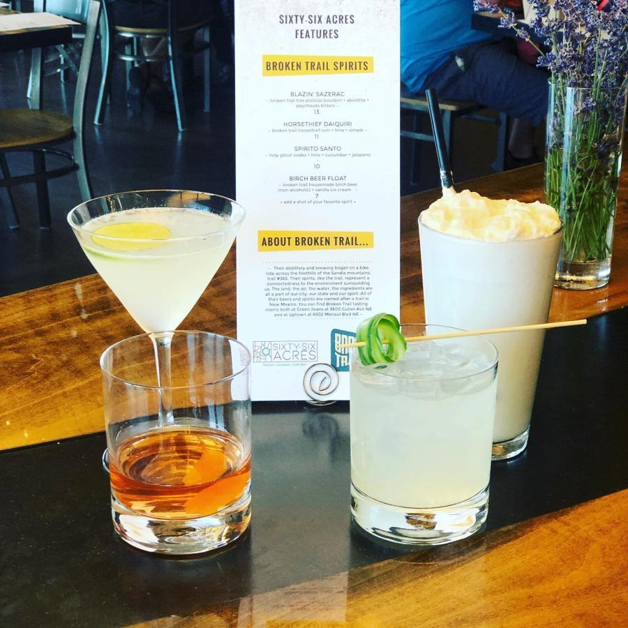 Sixty Six Acres Cocktails