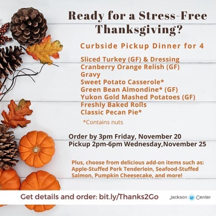 Jackson Center Thanksgiving
