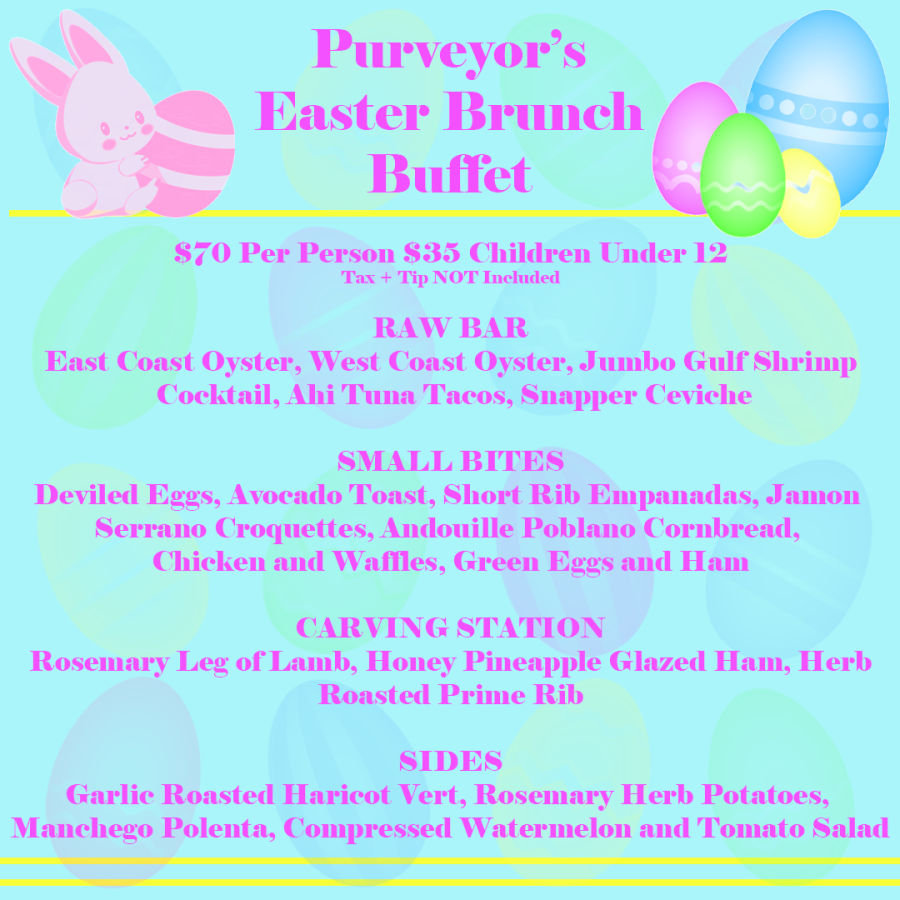 Easter Brunch Purveyor 2021