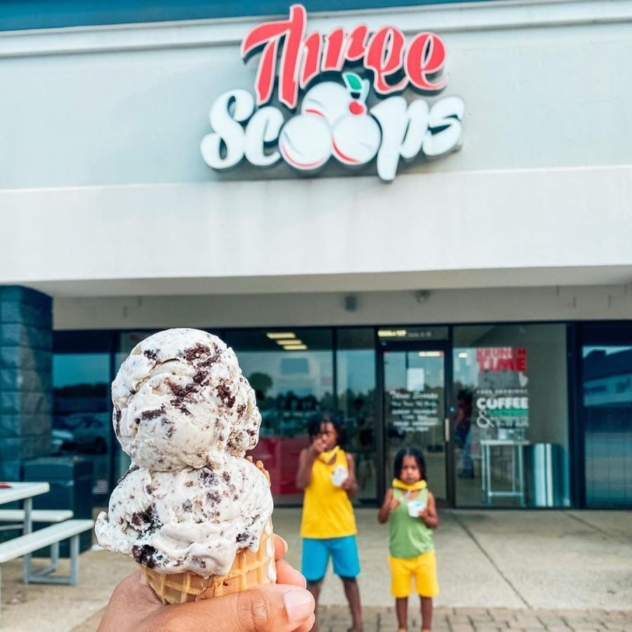 Three Scoops Ice Cream