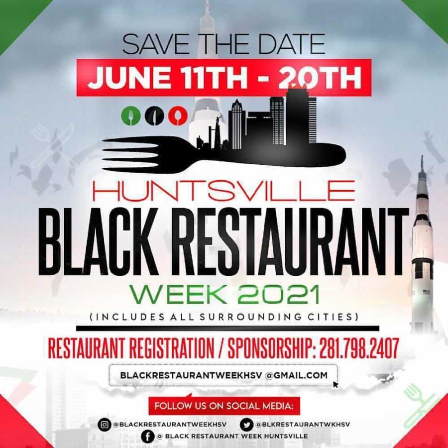 Black Huntsville Restaurant Week 2021