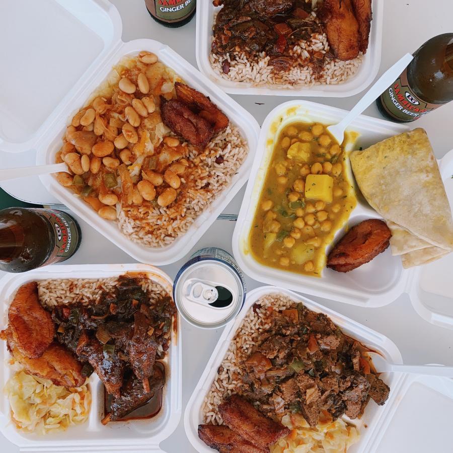 m&k Jamaican restaurant