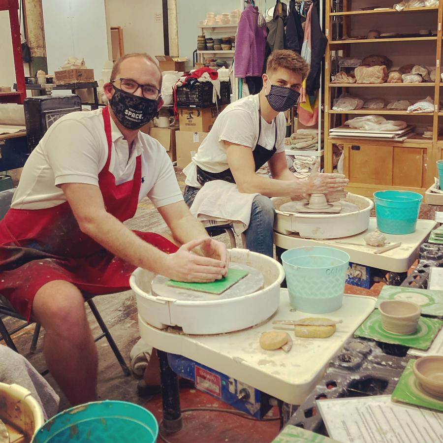 Throwing Class Pottery