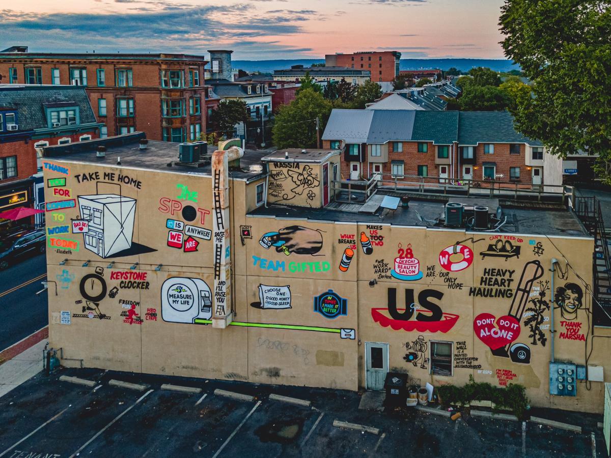 Harrisburg Mural ESPO 2020