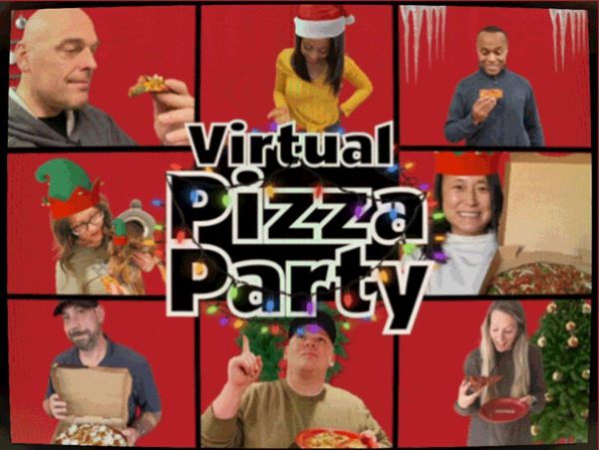 Donatos Virtual Pizza Party
