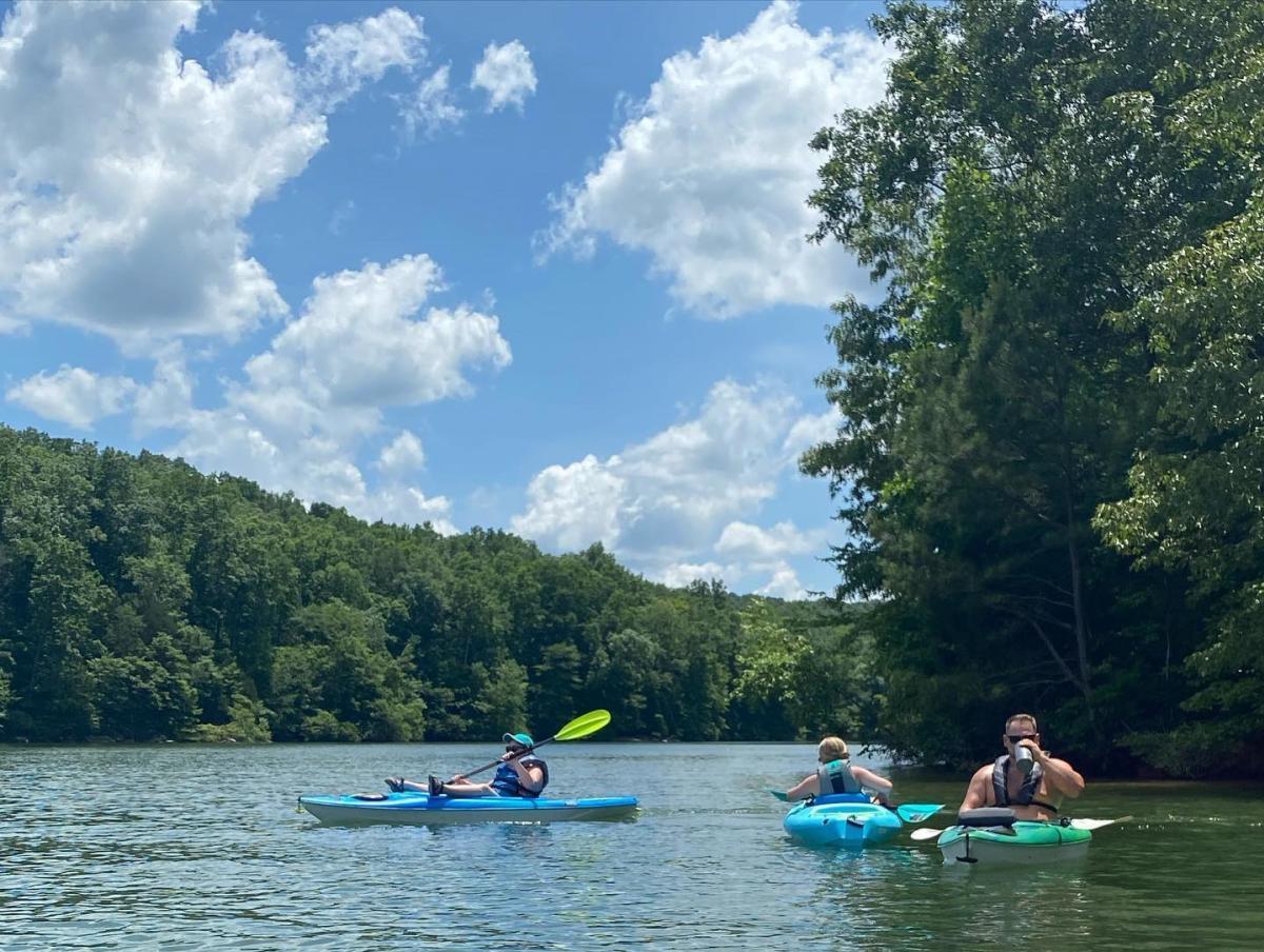 bear creek lake kayaking emily mays