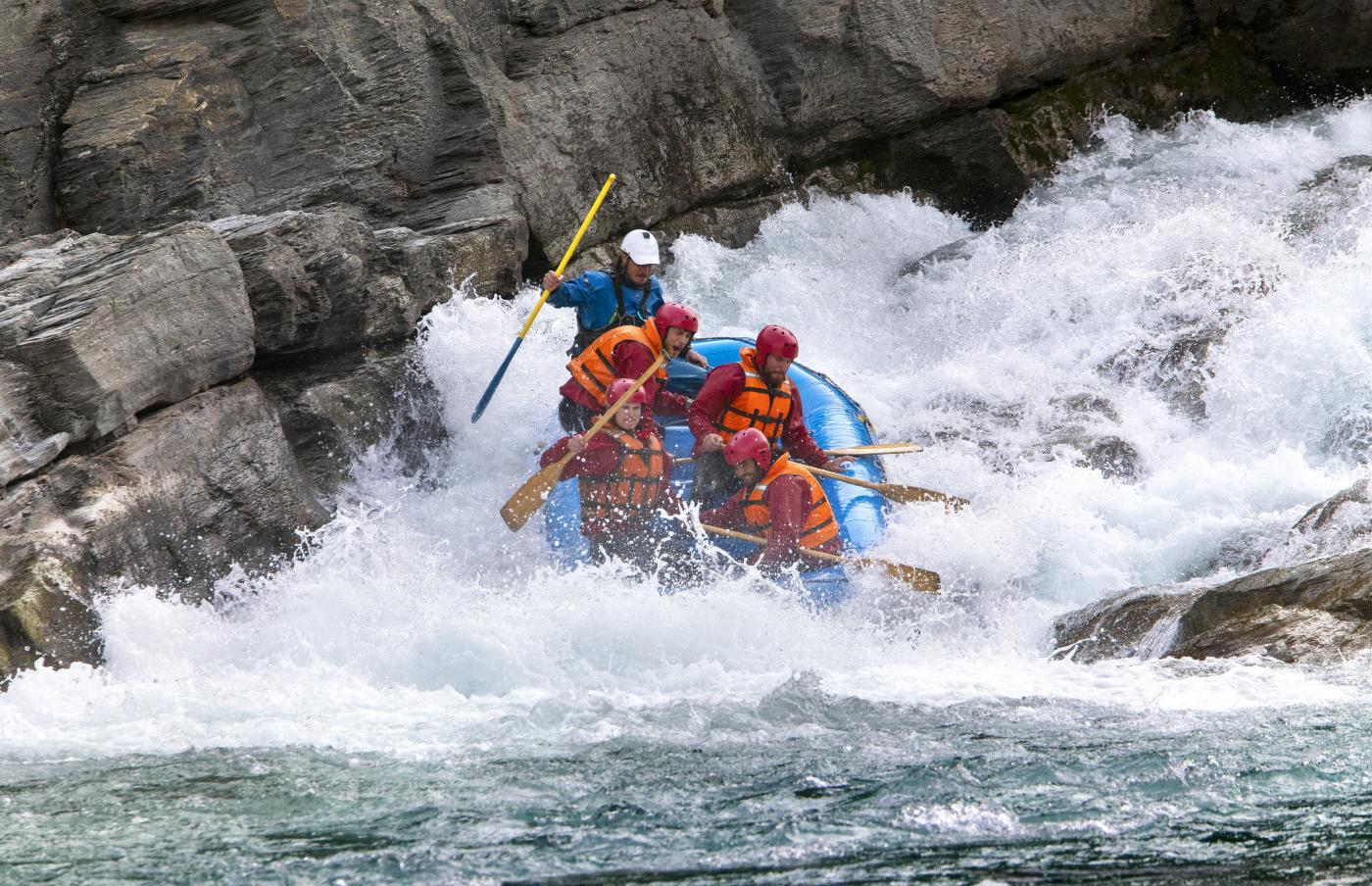 Whitewater rafting with Go Orange