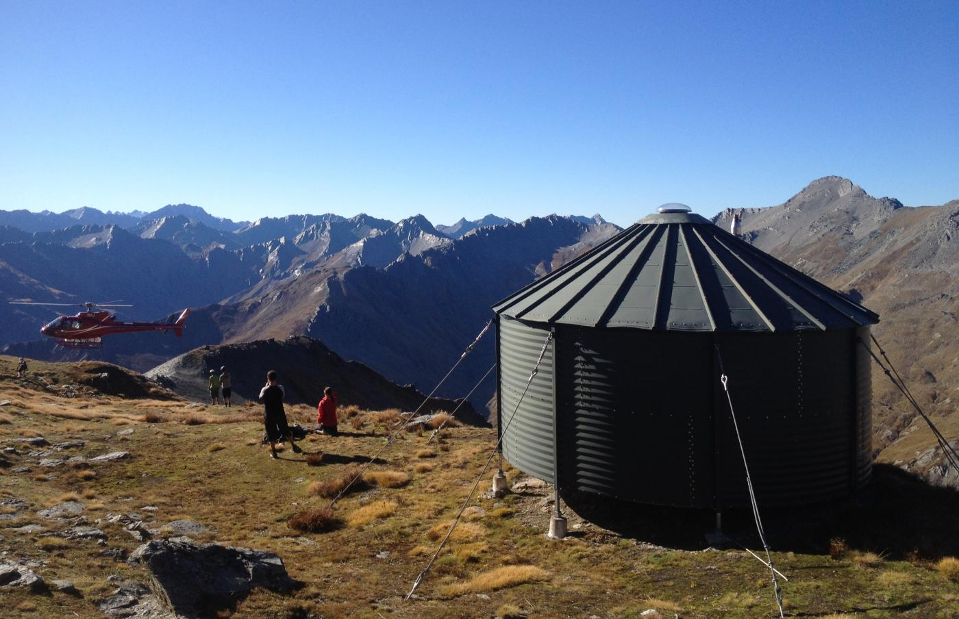 Helicopter access only to Mountainhut
