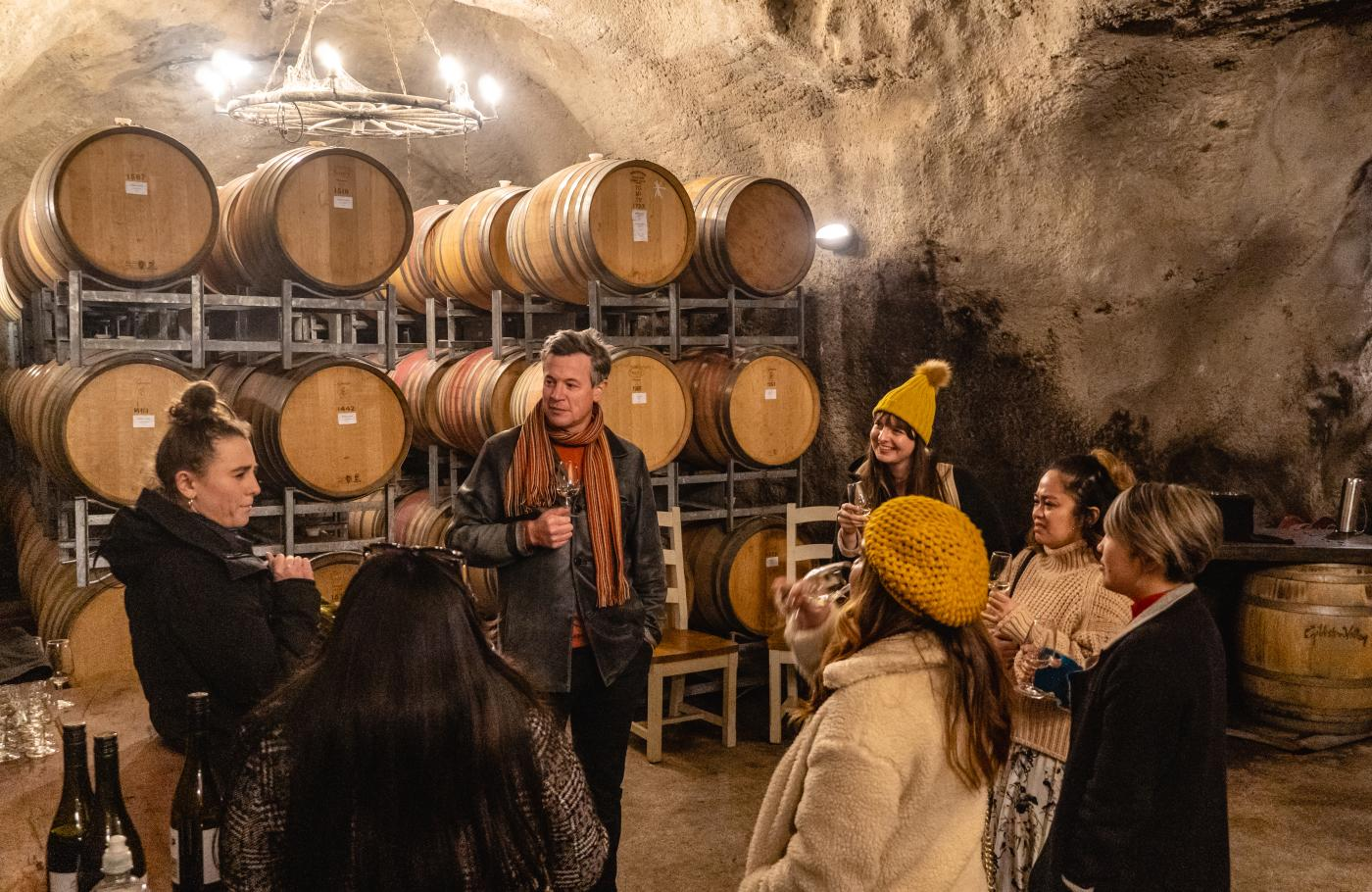 Gibbston Valley Winery Cave Tour with Christopher Keys