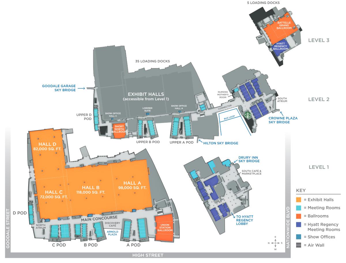 GCCC floor plan overview
