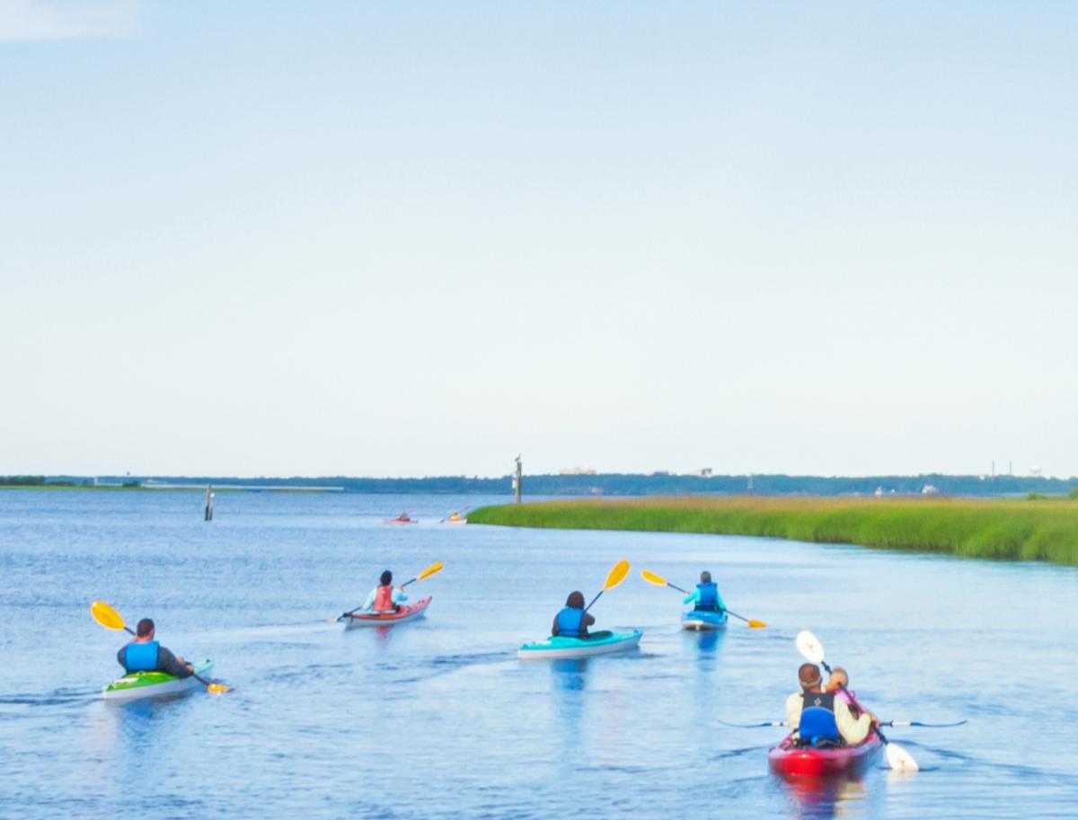 Zekes Island Kayak