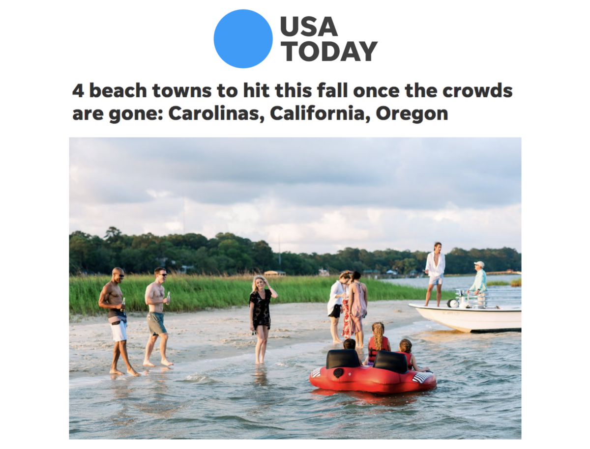 USA Today Press Release