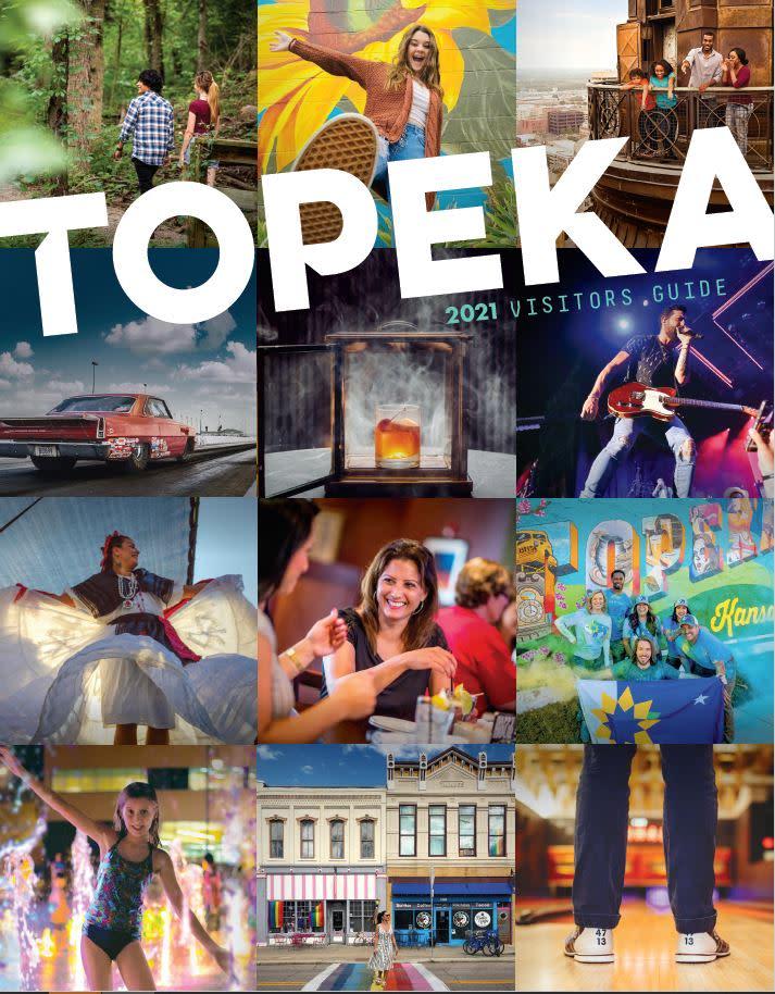 2021 Topeka Visitors Guide Cover | Topeka, KS