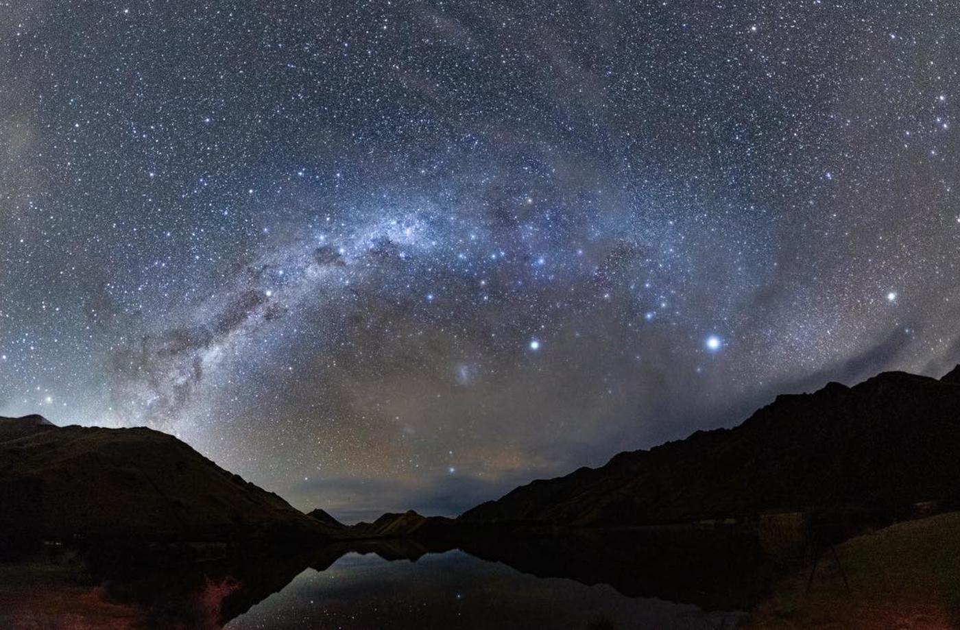 Milky Way over Moke Lake