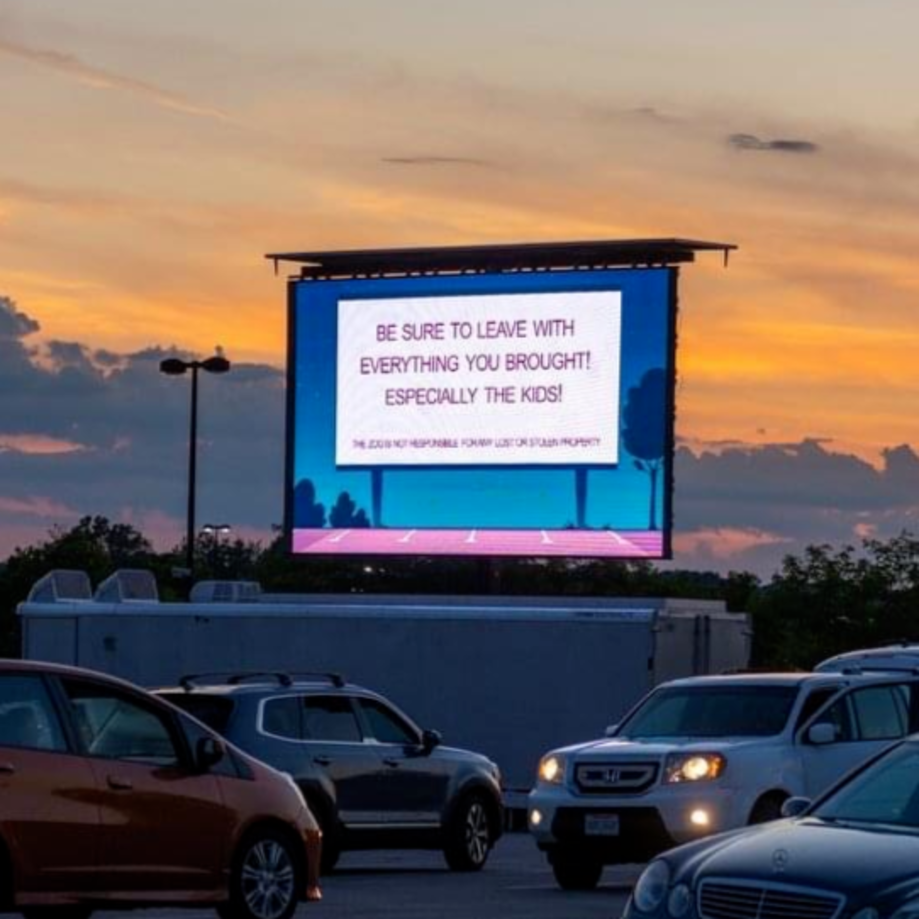 Drive-in Movie Screen In Columbus, OH