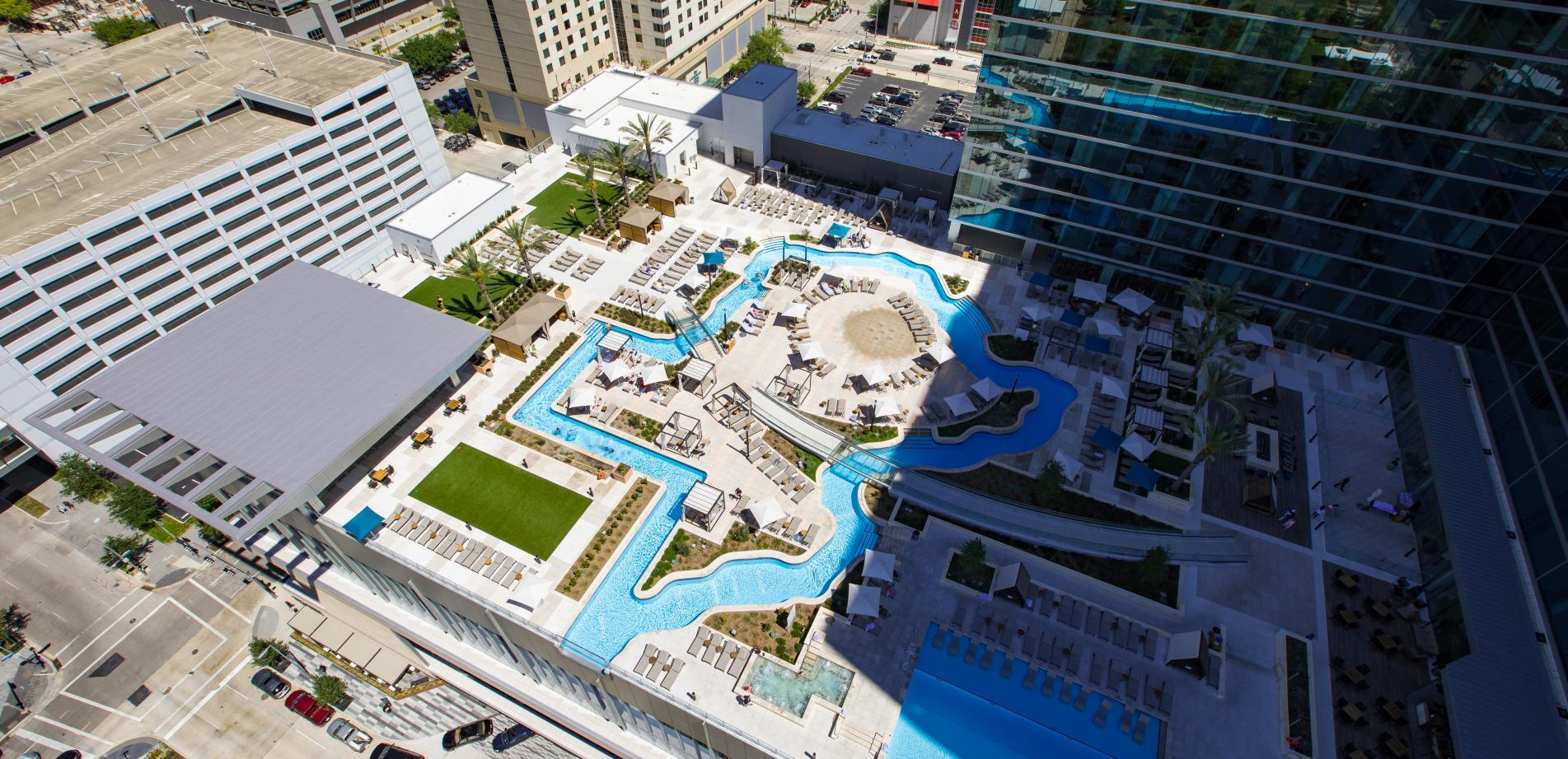 Marriott Marquis Pool