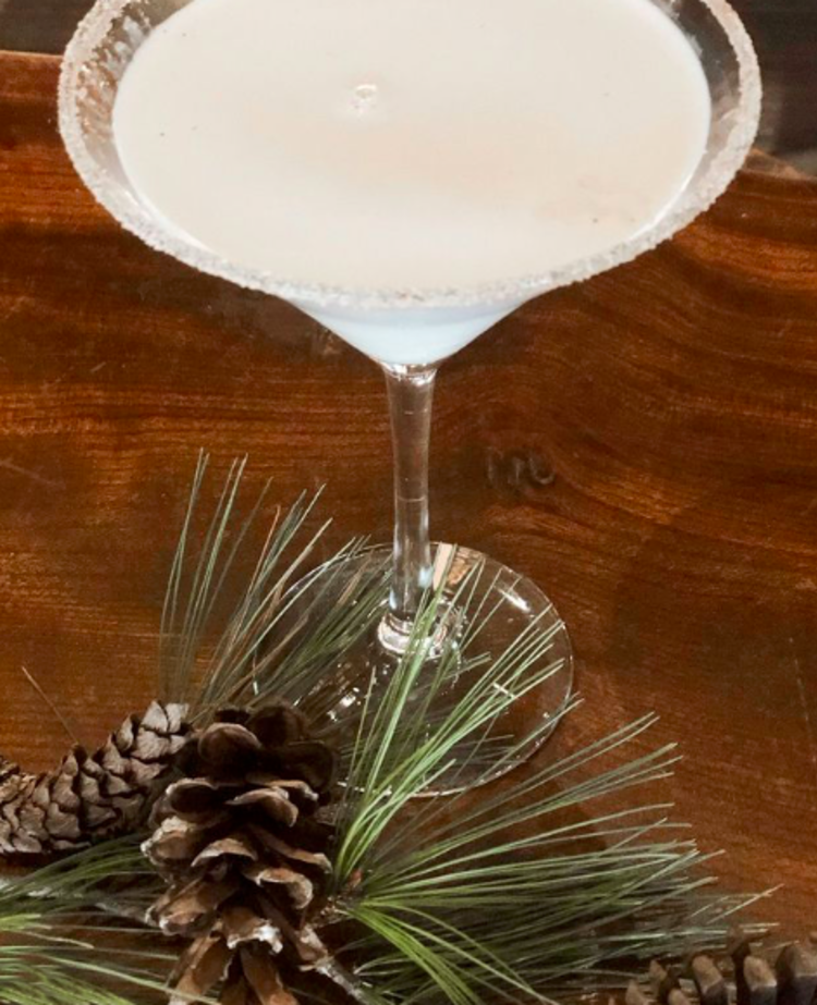 A festive martini at the Salt Creek Grille in Princeton