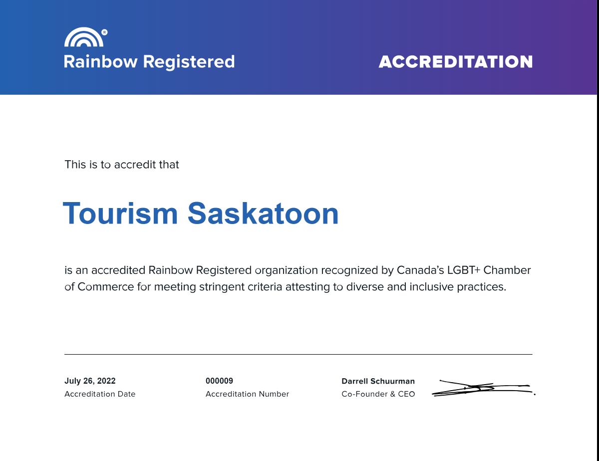 Saskatoon- CGLCC--certificate