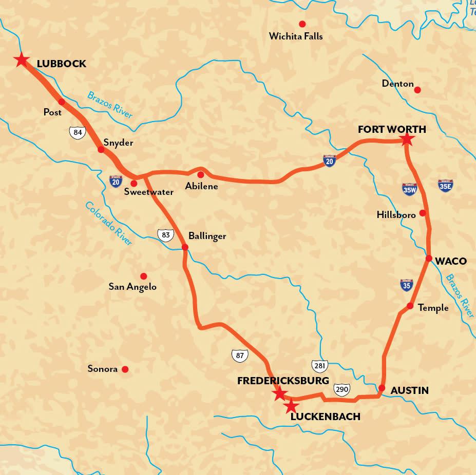 New LBK Map Road Trip