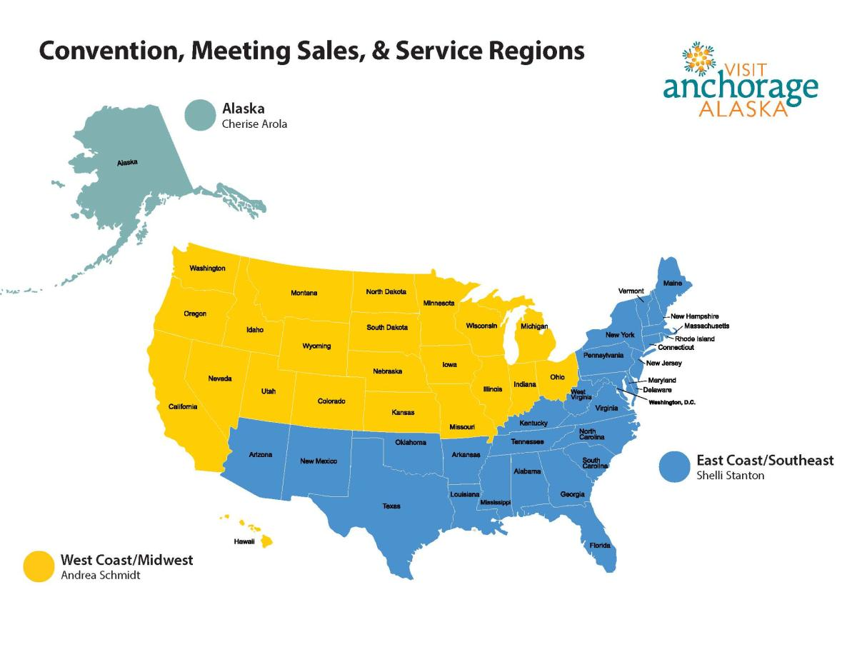 Sales Manager Map
