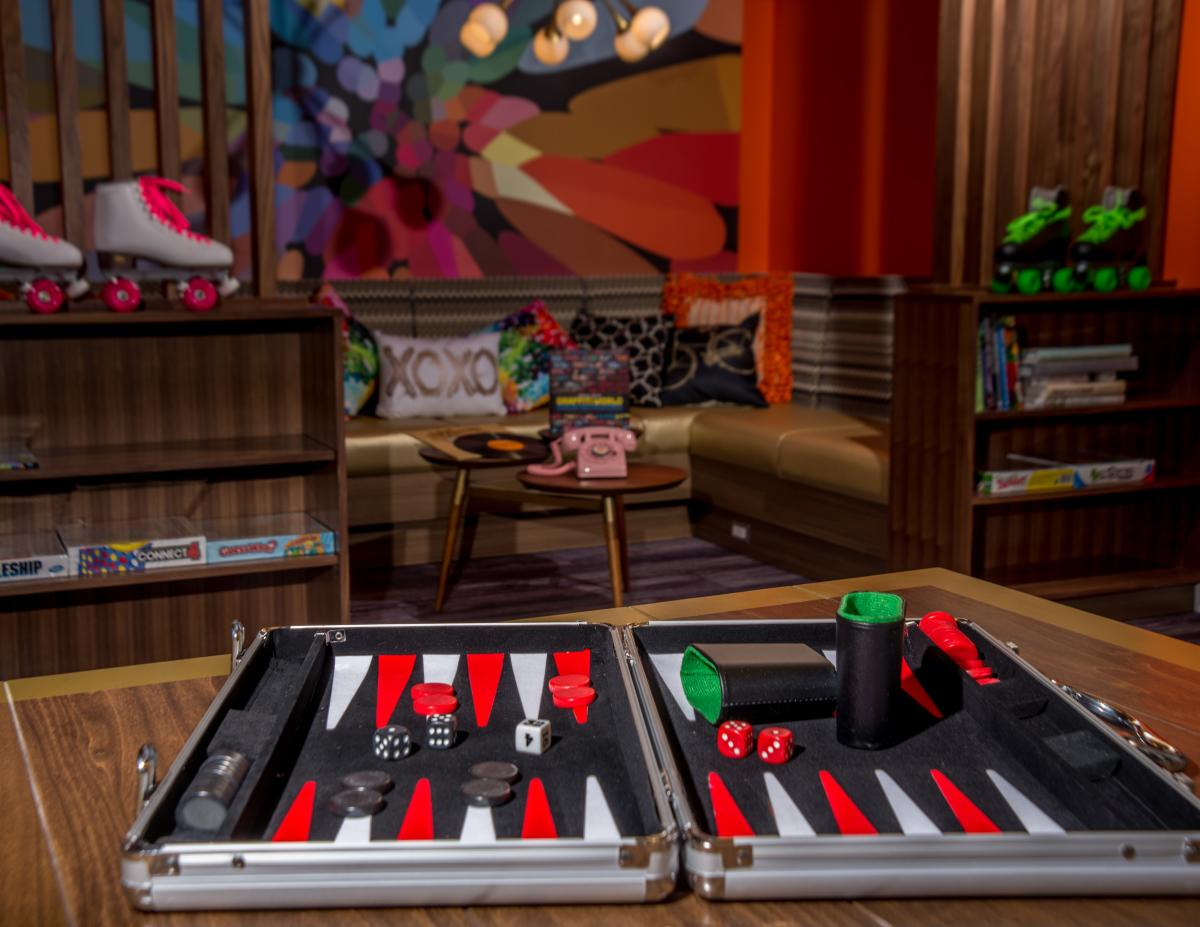Games at Hotel Zed