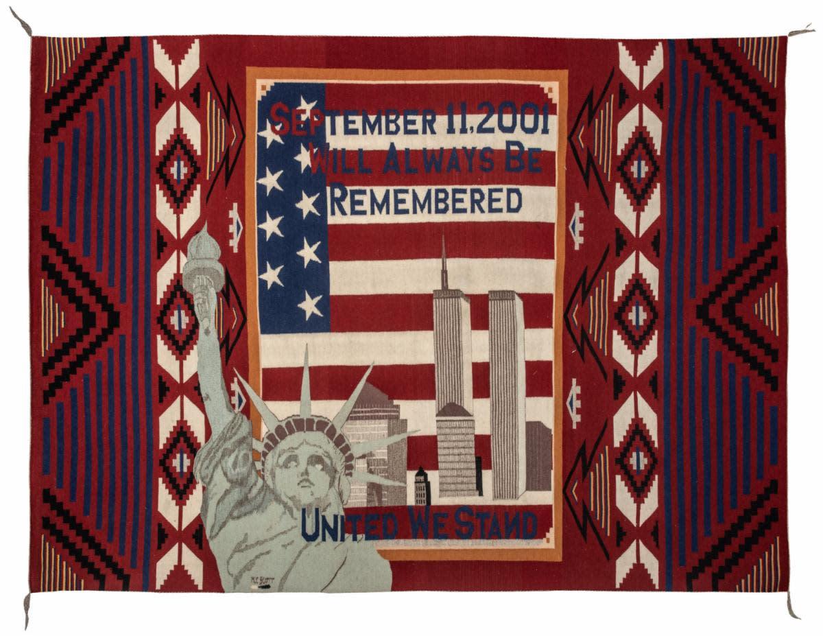 September 11 Tribute Rug