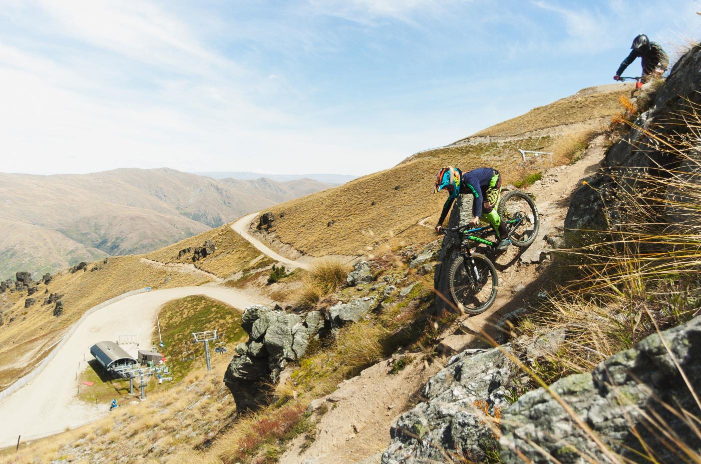 Downhill Mountain Biking at Cardrona in Summer