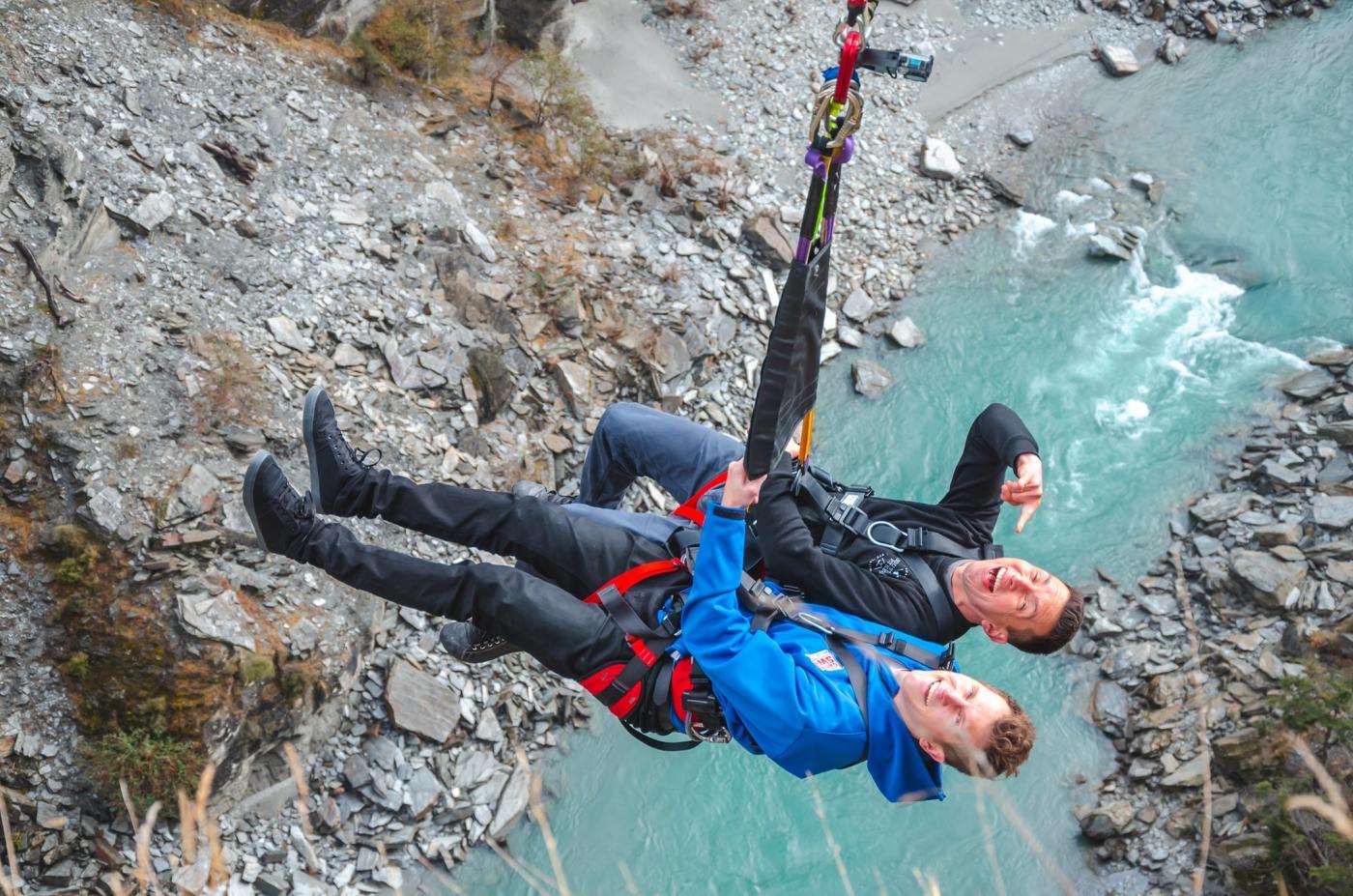 Shotover Canyon Swing - James & Jason