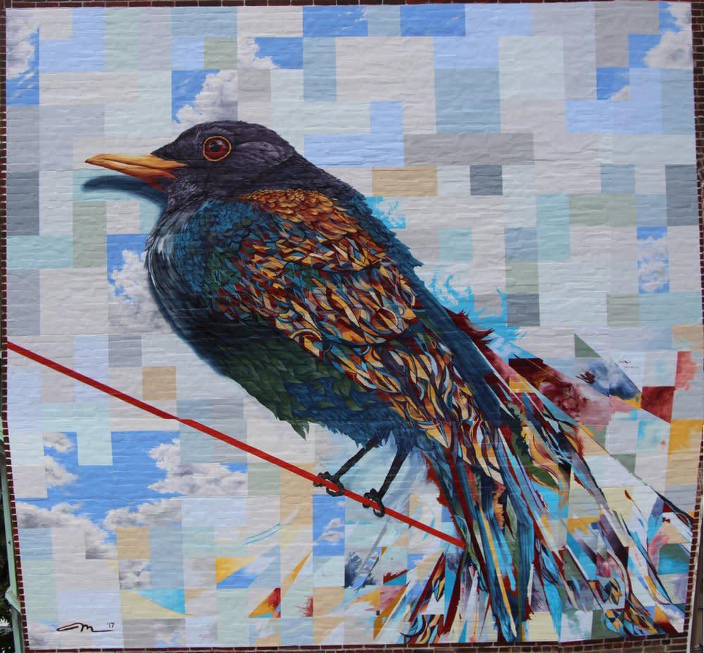 Allentown Mural - 'Bird on a Wire (2017)'