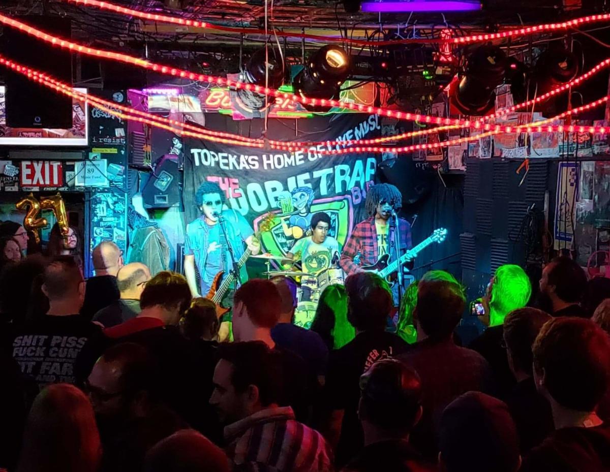 The Boobie Trap Bar - Band Playing   Topeka, KS (@lovedamaybe)