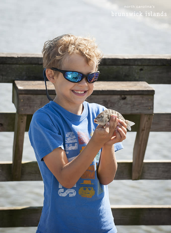 Boy and his Fish