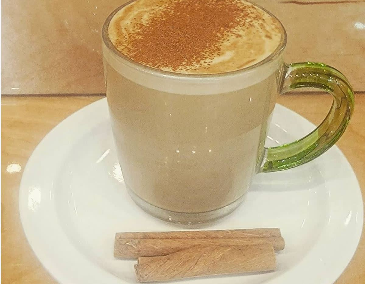Cinnamon Maple Latte from Community Grounds