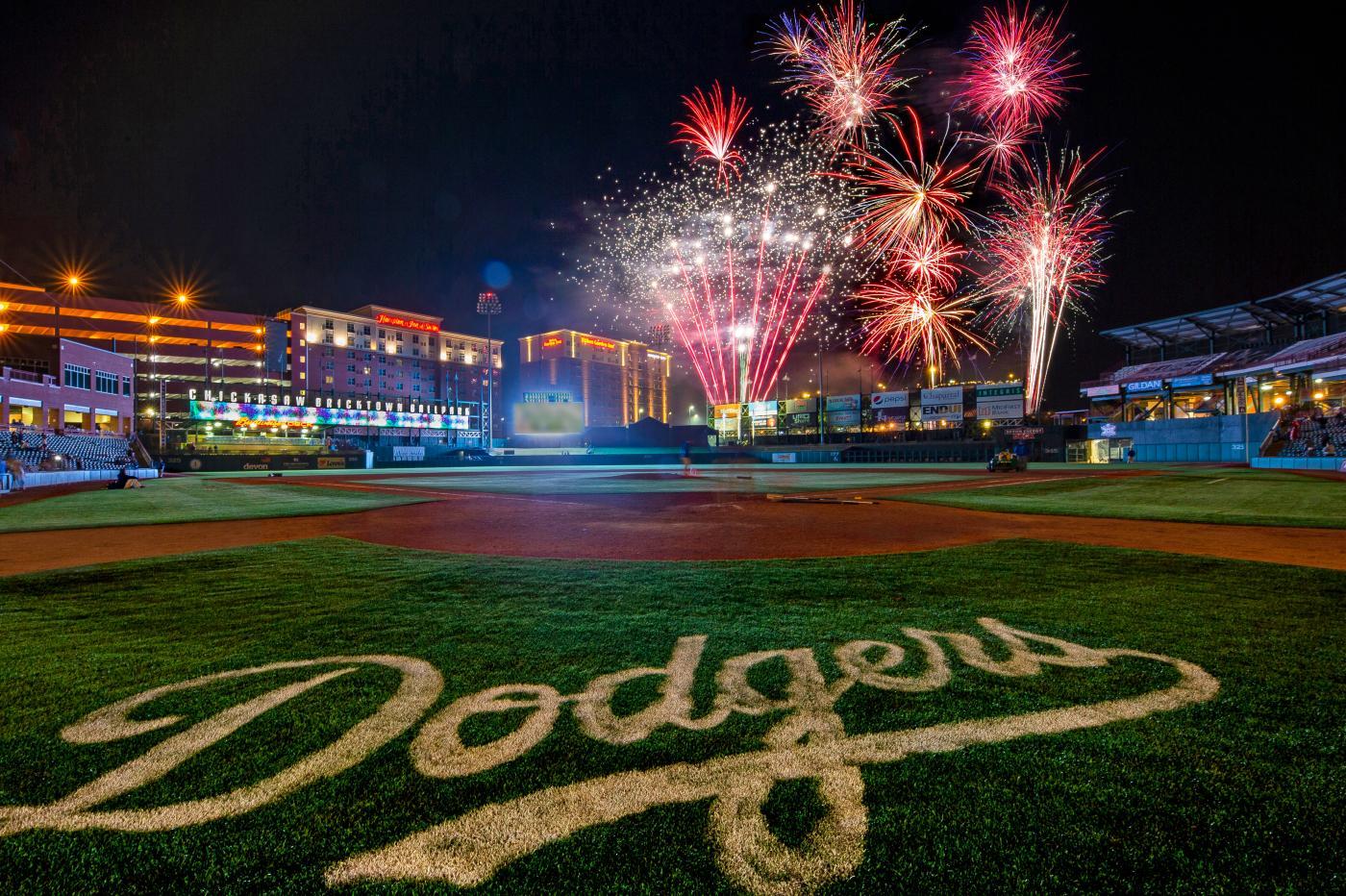 Dodgers Fireworks