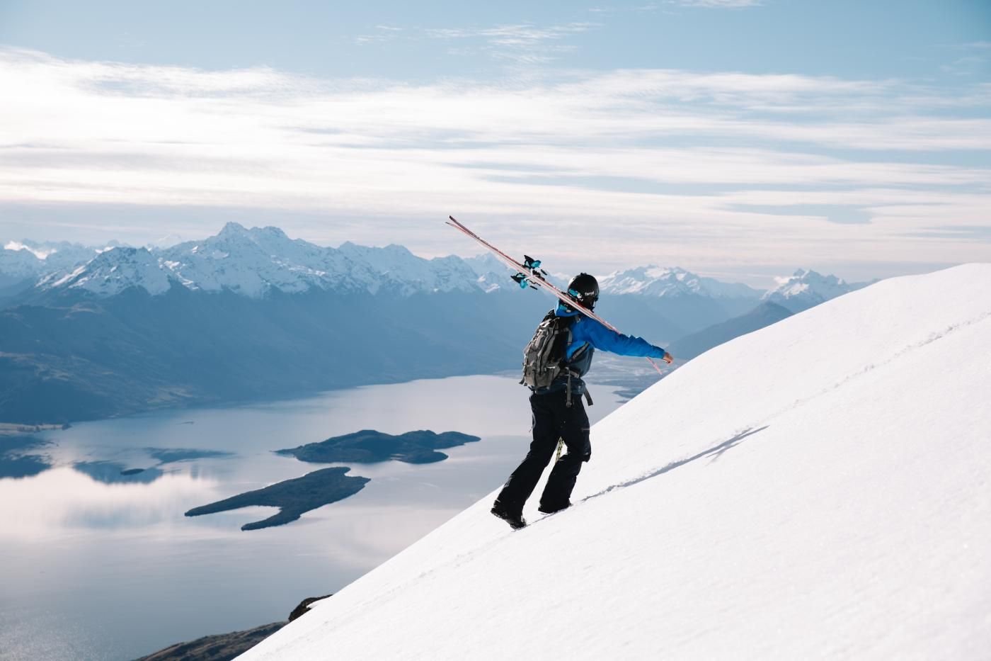 Backcountry skiing Queenstown