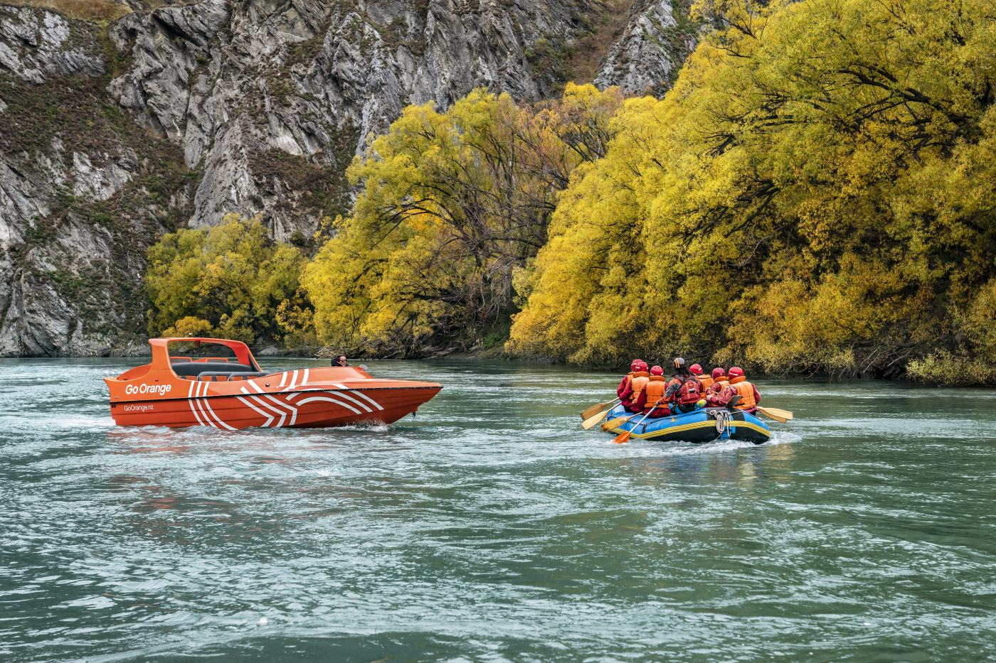 Go Orange Jetboat & Rafting