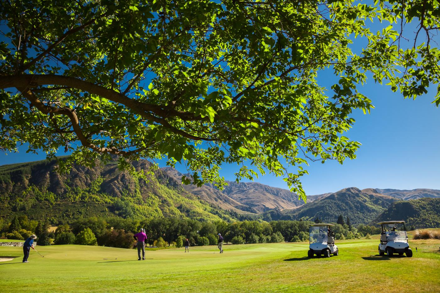 Golf at Millbrook in Spring